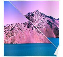 Landscape Glitch Poster