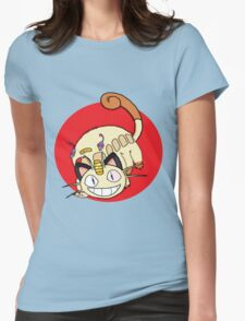 Meowthbus Womens Fitted T-Shirt