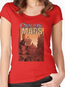 Cavaliers of Mars Art: City of Vance Women's Fitted Scoop T-Shirt