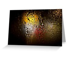 Condensation 74 - FIFA World Cup Trophy Abstract Greeting Card