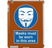 Health And Safety In An Alternate Future Totalitarian State iPad Case/Skin