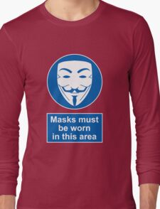 Health And Safety In An Alternate Future Totalitarian State Long Sleeve T-Shirt