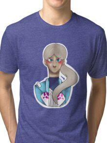 Blanche Pokemon Go  Tri-blend T-Shirt