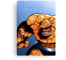 Clobbering time! Canvas Print