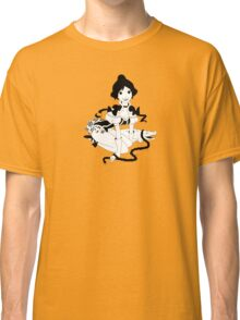 Pinup Tightrope Girl - Haunted Mansion Classic T-Shirt