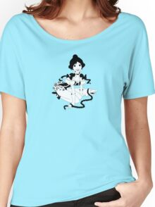 Pinup Tightrope Girl - Haunted Mansion Women's Relaxed Fit T-Shirt