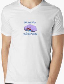 Dazed and Cloudfused Mens V-Neck T-Shirt