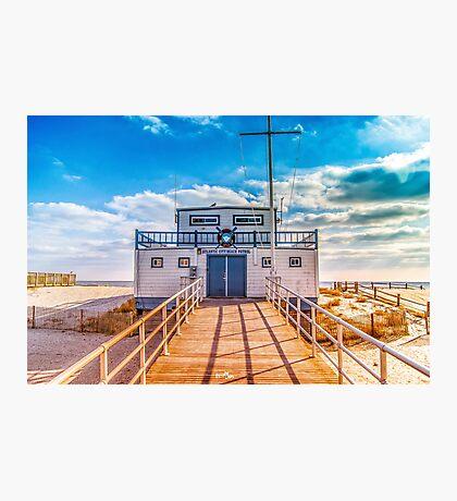 Atlantic City Beach Patrol Photographic Print