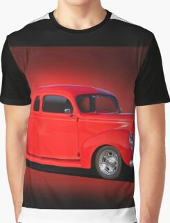 1940 Ford Coupe 'Now on Stage' Graphic T-Shirt