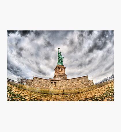 Liberty Statue Photographic Print