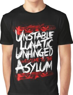 Welcome To The Asylum Graphic T-Shirt