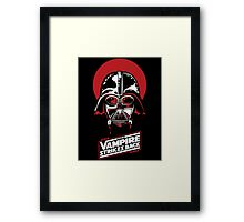 the Vampire Strikes Back Vader Framed Print