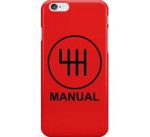 Save the Manuals!! iPhone Case/Skin