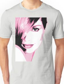 Cindy Crawford vector drawing Unisex T-Shirt