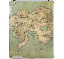 Peter Pan Neverland Map iPad Case/Skin