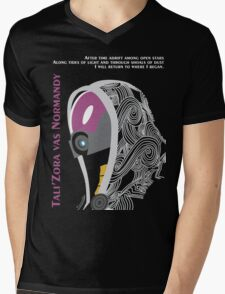 Mass Effect - Tali'Zora vas Normandy T-Shirt