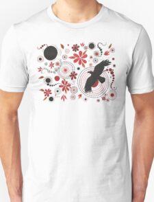 SUNSET RAVEN - GARDEN PARTY ART Unisex T-Shirt