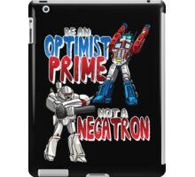 Optomist Prime - Negatron iPad Case/Skin