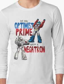 Optomist Prime - Negatron Long Sleeve T-Shirt