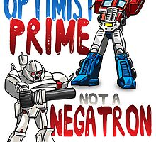 Optomist Prime - Negatron by EJTees