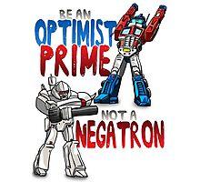 Optomist Prime - Negatron Photographic Print