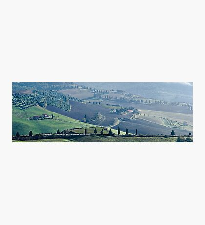 Val d'Orcia, Panorama Photographic Print