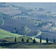 Val d'Orcia, Panorama Sticker