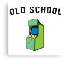 Old School Gamer Canvas Print