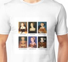 6 Wives (Mottoes) Unisex T-Shirt