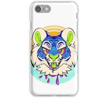 Tiger Vaporwave iPhone Case/Skin