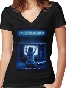 Poltergeist Women's Fitted V-Neck T-Shirt