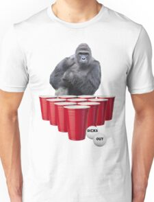Harambe Beer Pong Unisex T-Shirt
