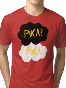 Pika in our stars Tri-blend T-Shirt