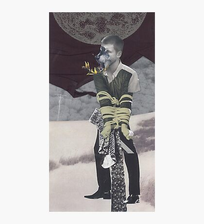 The Lycanthrope and the Full Moon  Photographic Print