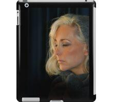 Blond Woman iPad Case/Skin