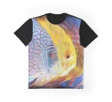 Four Fish Art by Tom Sachse Graphic T-Shirt