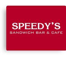 Speedy's Sandwich Bar & Cafe Canvas Print
