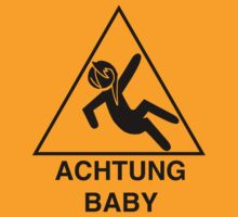 Achtung Baby by Niki Fakhoori