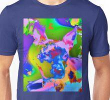 Psychedelic dog Unisex T-Shirt