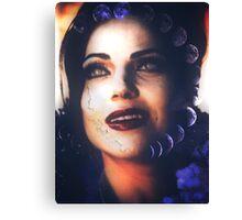 Evil queen - regina mills  Canvas Print