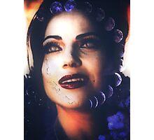 Evil queen - regina mills  Photographic Print