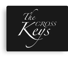 The Cross Keys – Sherlock, BBC Canvas Print