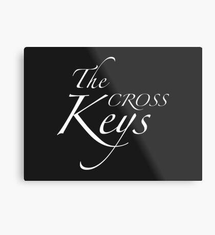 The Cross Keys – Sherlock, BBC Metal Print