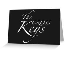 The Cross Keys – Sherlock, BBC Greeting Card