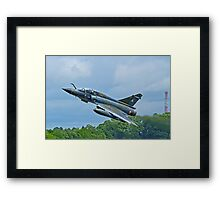 Mirage 2000N slightly abstracted Framed Print
