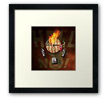 """Portrait of a virtual mind. Rafael Edward """"Ted"""" Cruz. Framed Print"""