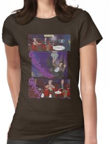 Fall of the Eleventh #4 Womens Fitted T-Shirt