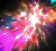 Colorful Cosmos by Phil Perkins
