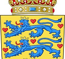 Coat of arms of Denmark by PattyG4Life