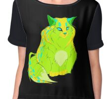 Chubby Kitty  Chiffon Top